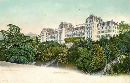 """CPA FRANCE 74  """"Evian les Bains, Splendid Hotel"""""""