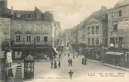 """CPA FRANCE 19 """"Brive, rue de l'Hotel de ville"""""""