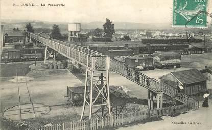 """CPA FRANCE 19 """"Brive, la Passerelle """""""