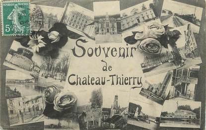"""/ CPA FRANCE 02 """"Souvenir de Château Thierry"""""""