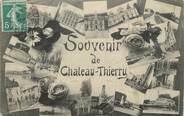 """02 Aisne / CPA FRANCE 02 """"Souvenir de Château Thierry"""""""