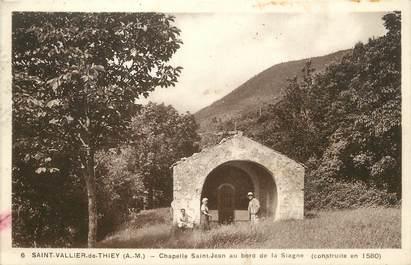 """/ CPA FRANCE 06 """"Saint Vallier de Thiey, chapelle Saint Jean au bord de la Siagne"""""""