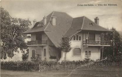 "CPA FRANCE 74  ""Evian les Bains, villa des Mémises"""