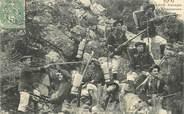 "Militaire  CPA CHASSEUR ALPIN ""Groupe de chasseurs alpins"""