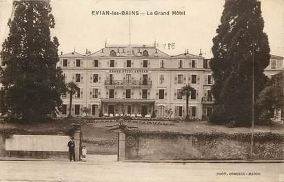 """CPA FRANCE 74  """"Evian les Bains, le Grand Hôtel"""""""