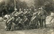 Militaire CARTE  PHOTO  CHASSEUR  ALPIN / Mitrailleuses