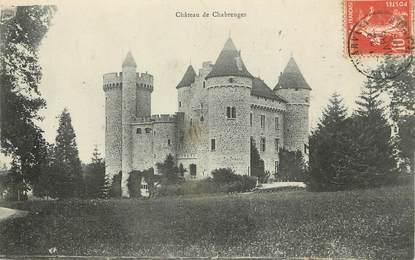 """/ CPA FRANCE 43 """"Château de Chabreuges"""""""
