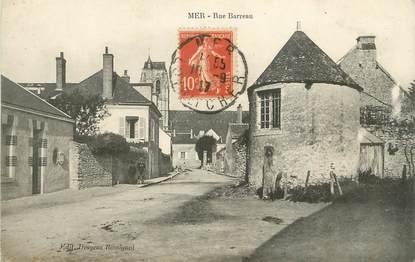 """/ CPA FRANCE 41 """"Mer, rue Barreau"""""""