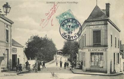 "/ CPA FRANCE 72 ""Mamers, boulevard Victor Hugo"""