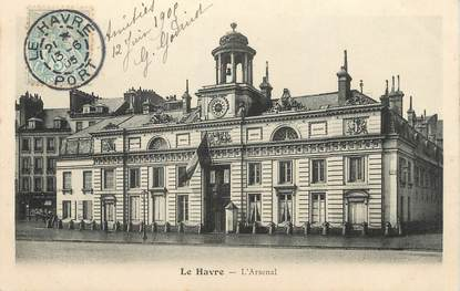"""/ CPA FRANCE 76 """"Le Havre, l'Arsenal"""""""