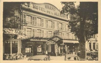 """/ CPA FRANCE 03 """"Moulins, grand hôtel de l'Allier, place Allier, centre de la ville"""""""