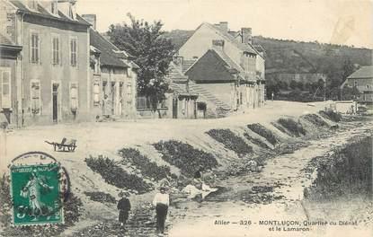 """/ CPA FRANCE 03 """"Montluçon, quartier du Diénat et le Lamaron"""""""