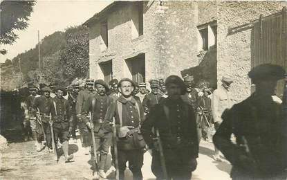 CARTE PHOTO CHASSEUR ALPIN / bataillon