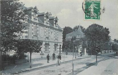 """/ CPA FRANCE 14 """"Cabourg, les postes et télégraphes"""""""