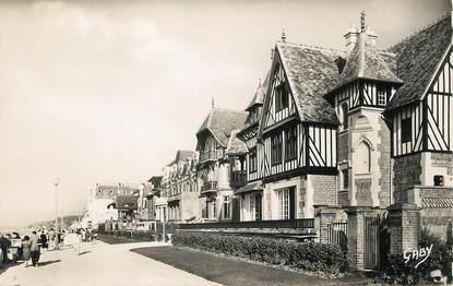 """/ CPSM FRANCE 14 """"Cabourg, promenade des Anglais"""""""
