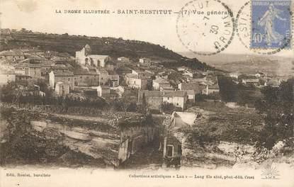 """CPA FRANCE 26 """"Saint Restitut, vue générale"""""""