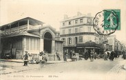 "14 Calvado / CPA FRANCE 14 ""Bayeux, la poissonnerie"""