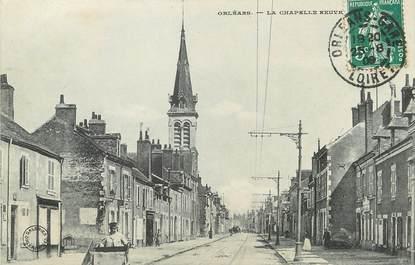 """/ CPA FRANCE 45 """"Orléans, la chapelle neuve"""""""