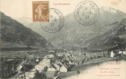 "/ CPA FRANCE 65 ""Panorama de Bosost, vallée d'Aran"""