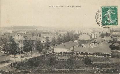 """/ CPA FRANCE 42 """"Feurs, vue générale """""""