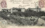 """37 Indre Et Loire / CPA FRANCE 37 """"Chinon, le château de la partie Nord"""""""
