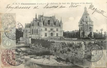 """/ CPA FRANCE 37 """"Chenonceaux, le château"""""""