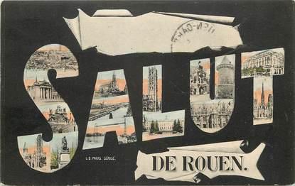 """* CPA FRANCE 76 """"Salut de Rouen"""""""