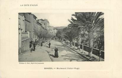 "CPA FRANCE 83 ""Bandol, Bld Victor Hugo"""