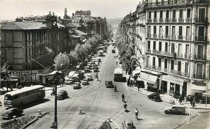 """/ CPSM FRANCE 83 """"Toulon, le bld de Strasbourg"""""""