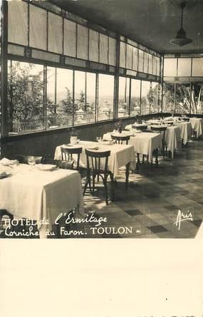"""/ CPSM FRANCE 83 """"Toulon, corniche du Faron, hôtel de l'Ermitage"""""""
