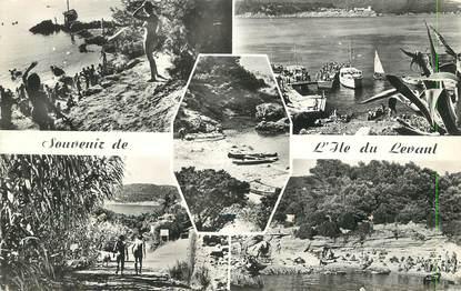 """/ CPSM FRANCE 83 """"L'ile du Levant"""" / NATURISME"""