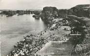 "27 Eure / CPSM FRANCE 27 ""Vernon, les bords de la Seine, la piscine"""