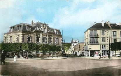 "/ CPSM FRANCE 27 ""Vernon, la poste et la rue Albufera"""