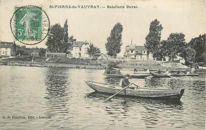 """/ CPA FRANCE 27 """"Saint Pierre de Vauvray, bastellerie Duval"""""""