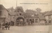 """27 Eure / CPA FRANCE 27 """"Saint Pierre de Vauvray, route de Louviers"""""""