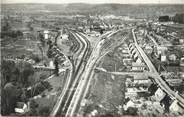 """27 Eure / CPSM FRANCE 27 """"Serquigny, la gare et les nouvelles constructions"""""""