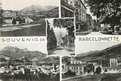 """04 Alpe De Haute Provence / CPSM FRANCE 04 """"Souvenir de Barcelonette"""""""