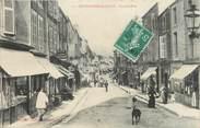 """52 Haute Marne / CPA FRANCE 52 """"Bourbonne les Bains, grande rue"""" / COMMERCE"""