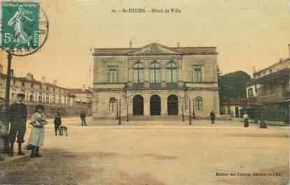 """/ CPA FRANCE 52 """"Saint Dizier, hôtel de ville"""""""