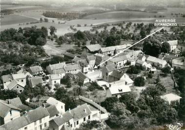 """/ CPSM FRANCE 95 """"Nerville la Forêt, vue générale aérienne et l'auberge Brancato"""""""