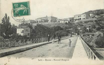 "/ CPA FRANCE 04 ""Digne, Nouvel Hospice"""