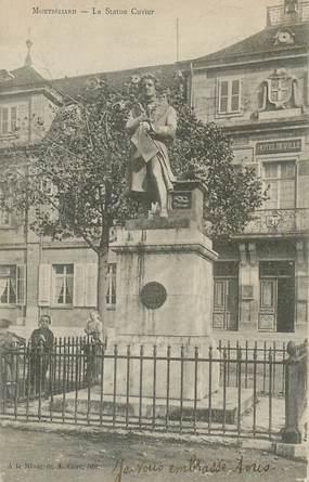 """CPA FRANCE 25 """"Montbéliard, la statue Cuvier"""" / STATUE"""