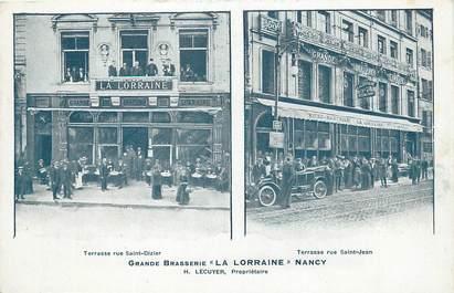 "/ CPA FRANCE 54 ""Nancy, grande brasserie La Lorraine"""