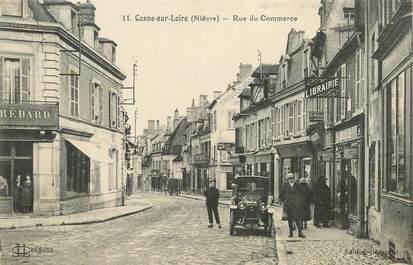 """/ CPA FRANCE 58 """"Cosne sur Loire, rue du Commerce"""""""