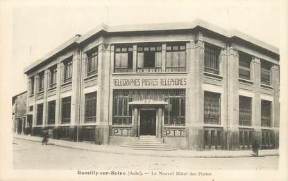 """/ CPA FRANCE 10 """"Romilly sur Seine, le nouvel hôtel des postes"""""""