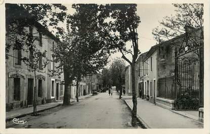 """/ CPSM FRANCE 11 """"Lézignan, avenue des Corbières"""""""