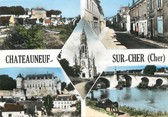 "18 Cher / CPSM FRANCE 18 ""Chateauneuf sur Cher"""