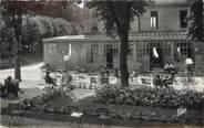 """52 Haute Marne / CPSM FRANCE 52 """"Bourbonne les Bains, les jardins de l'établissement thermal"""""""
