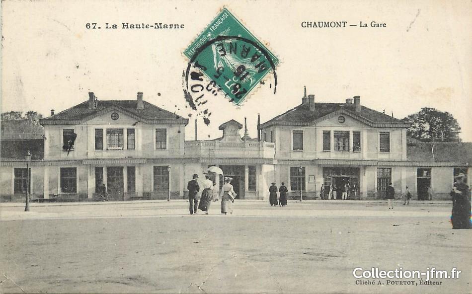 cpa france 52 chaumont la gare 52 haute marne chaumont 52 ref 28765 collection. Black Bedroom Furniture Sets. Home Design Ideas