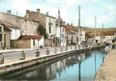 """/ CPSM FRANCE 52 """"Doulaincourt, rue de la gare"""""""